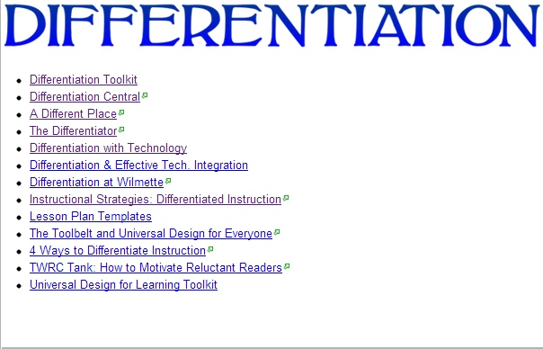 term papers on differentiated instruction Read chapter two in your text and, in a two-page paper, not including title and reference pages differentiated instruction differentiated instruction (di.
