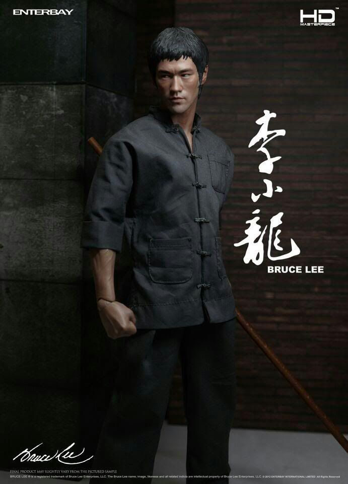 Enterbay - Bruce Lee - HD Masterpiece - 1 4 scale - - HD1008