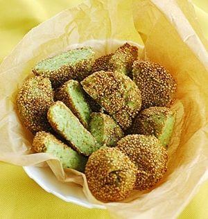 エジプト塩レシピ・作り方の人気順|簡単料理の楽天レシピ ターメイヤ(エジプト風そら豆コロッケ)