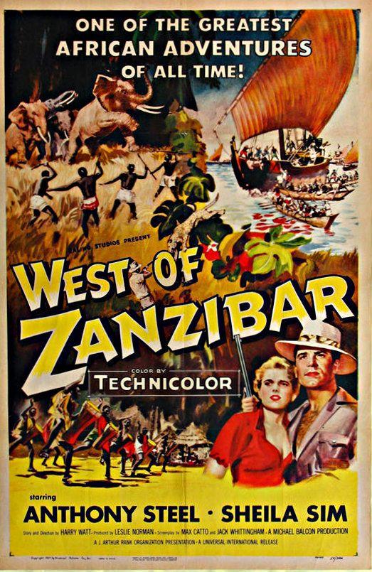 West of Zanzibar Movie Poster 1954