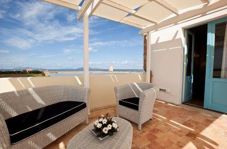 Patruni - terrace of deluxe room