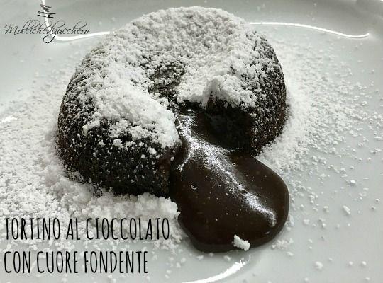 Per leggere la ricetta del tortino al cioccolato non dovrete far altro che cliccare sulla foto e... buona lettura a tutti!!!
