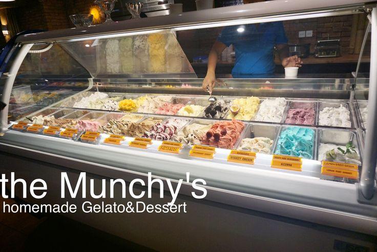 ~theMunchy's.~  #gelato #dessert #seminyak #bali