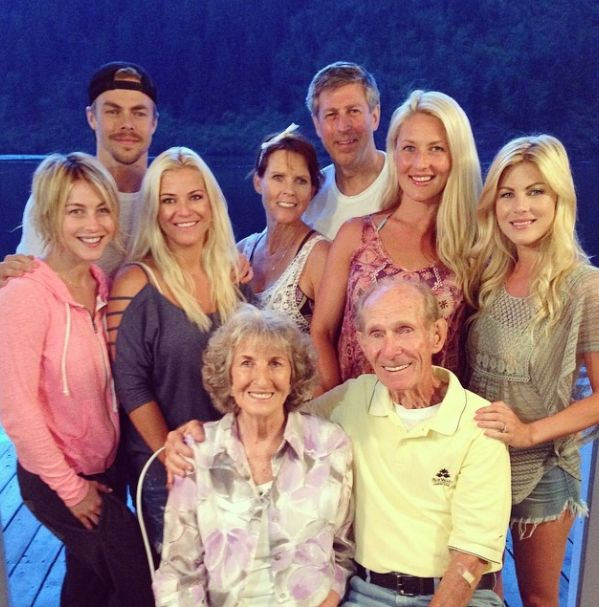derek hough instagram pics | hough family 2014 grandparents 64th anniversary # hough # family