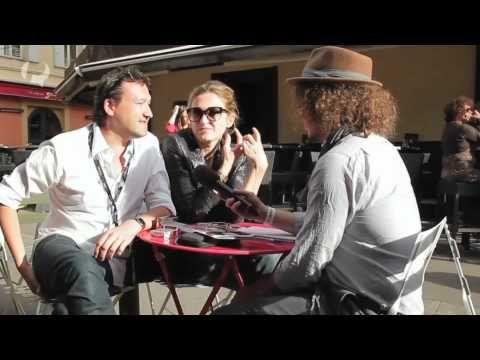 Interview Julie Gayet et Franck Finance-Madureira à l'occasion de la Queer Palm 2012