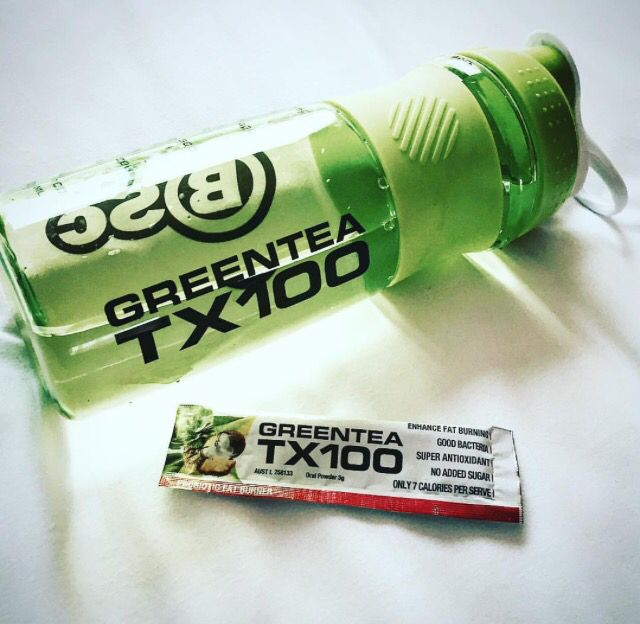 Shaker. For the first time probiotics meets 100 cups of green tea in an advanced weight loss system. All natural GreenTea TX100 is a delicious tasting, 7 calorie, convenient and easy to use sachet The health and weight loss benefits associated with the regular consumption of green tea are well-documented and now Body Science would like to introduce you to the latest in product development - our new GREENTEA TX100. http://www.bodyscience.com.au/shop/green-tea-tx100.html