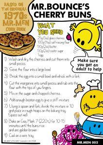 Mr Bounce's Cherry Buns recipe
