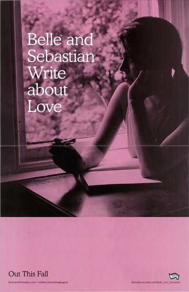belle and sebastian 'write about love' poster