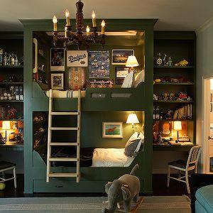 Kristen Panitch Interiors - super cool bunk bed