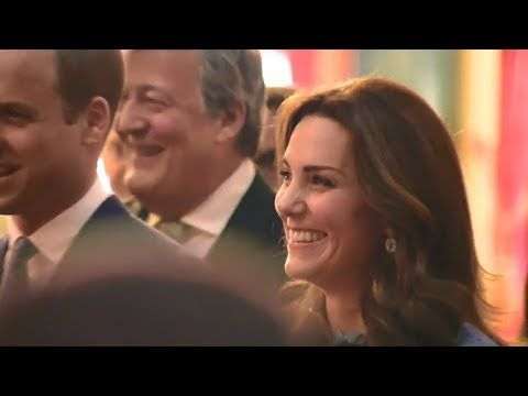 The Duchess of Cambridge makes her first appearance since announcing her...