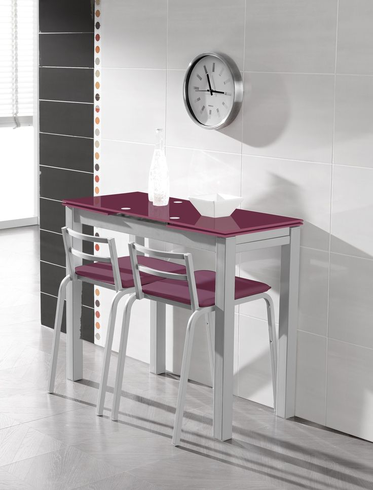 Mesa extens vel optima en conforama tables pliantes for Mesas de cocina conforama