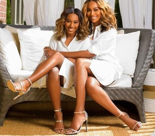 Cynthia Bailey and her daughter Noel