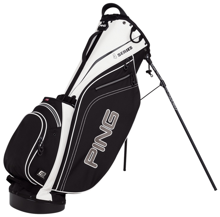 """This lightweight Ping golf bag, that has """"carry"""" straps attached, is a good choice for your clubs. This golf bag has the right amount of pockets and golf club space for everything you need to take for a full round of golf, whether walking or riding in a cart. So many choices of bags and colors, you will find one that works for you!"""