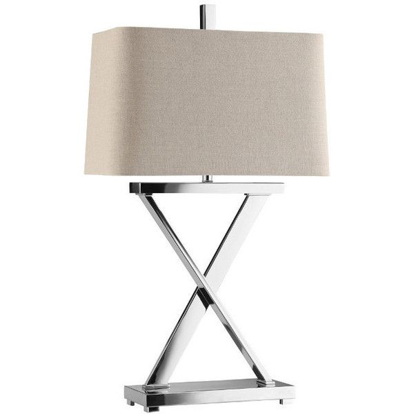 Lamps max nickel table lamp by stein world at pilgrim furniture city