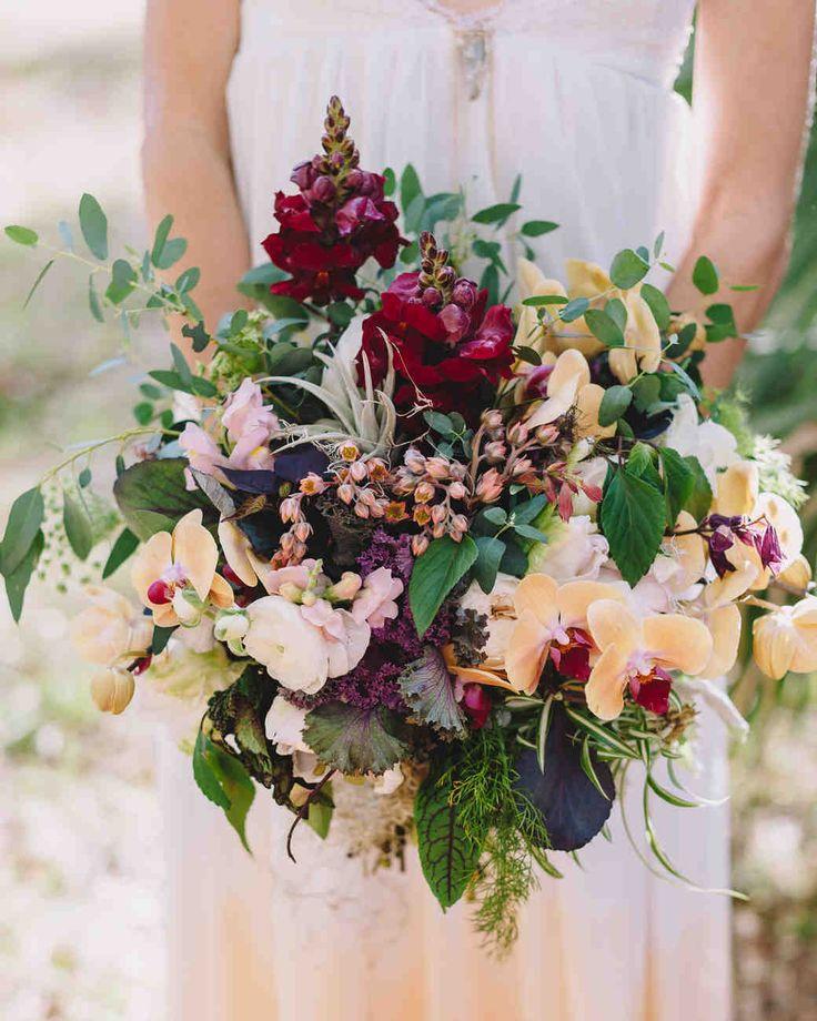 Orchid Flower Arrangements For Weddings: Image Result For Burgundy Bridal Bouquets