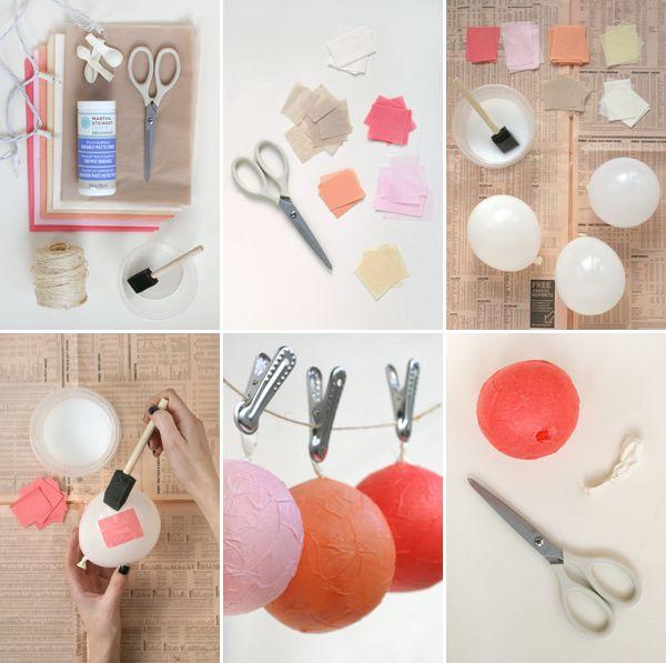 #DIY: reutiliza las luces de navidad | DECORA TU ALMA - Blog de decoración, interiorismo, niños, trucos, diseño, arte...