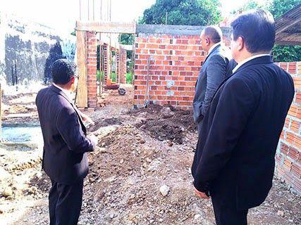 OAB de SANTARÉM: Jarbas Vasconcelos visita obra de construção da no...
