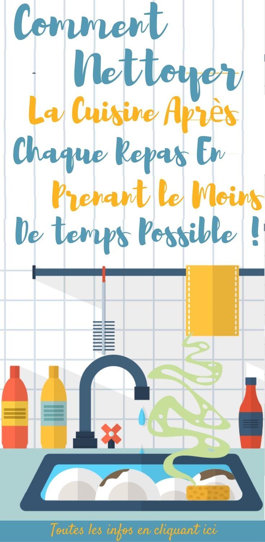 La cuisine est le cœur et le centre de la maison, mais elle se salit rapidement. (C'est l'inconvénient de cuisiner à la maison !) Si on la néglige, la cuisine peut rapidement devenir un champ de bataille. Voici une routine pour nettoyer votre cuisine en prenant le moins de temps possible.  Oubliez les marathons de nettoyage du week-end ! Regardons cela de plus près. #nettoyage #nettoyer #cuisine #maison #astuces #trucs #trucsetastuces #nettoyagecuisine
