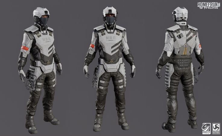 ArtStation - Homefront: The Revolution - KPA Soldier, Richard Smith