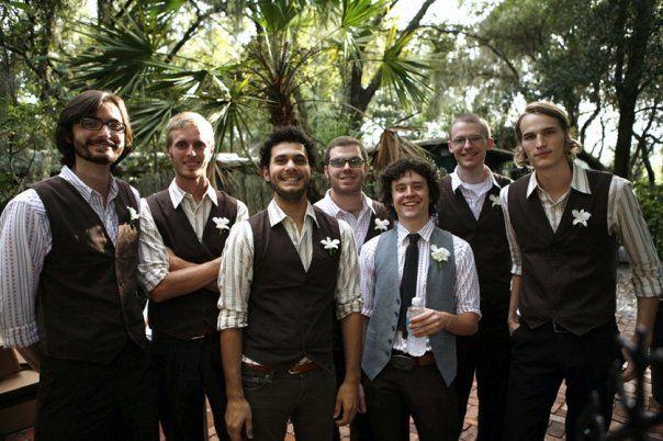 tren di nozze: Lo sposo very very casual