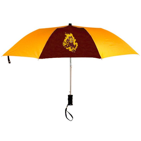 Arizona State Sun Devils WinCraft 42'' Folding Umbrella - Maroon/Gold - $19.99