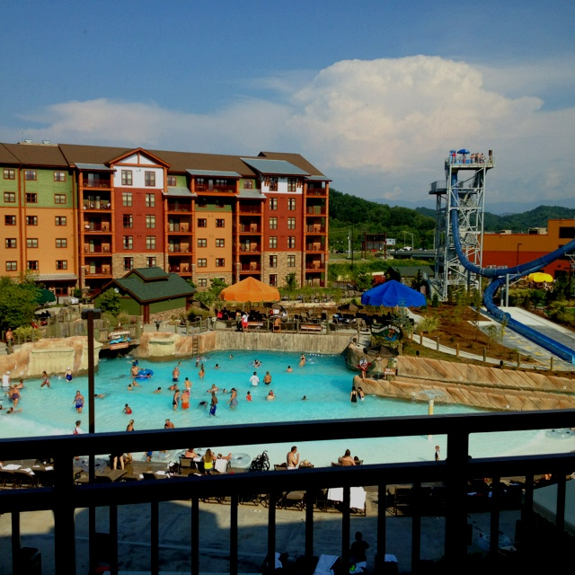Wilderness at the Smokies Resort- should go this year for a long weekend
