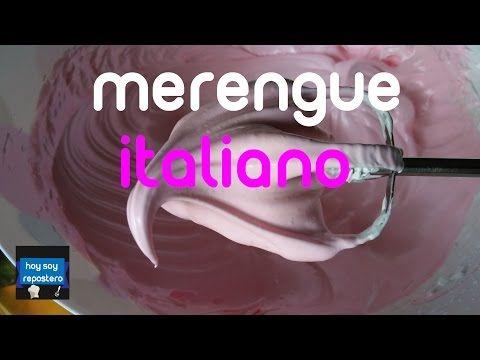 MERENGUE ITALIANO + TIPS PARA UN MERENGUE PERFECTO Y LIBRE DE FALLAS (receta) | Mirem Itziar ❤ - YouTube