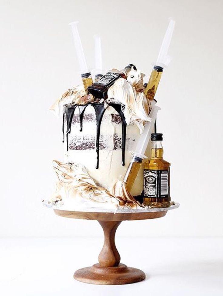 Jack Daniels birthday cake