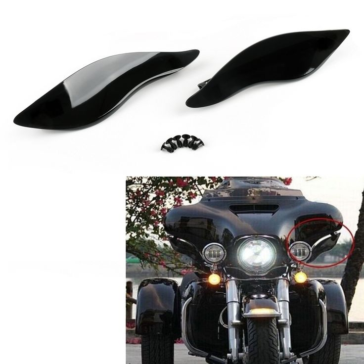 Mad Hornets - 2x ABS Black Plastic Side Wings Air Deflectors For Harley Davidson Touring FL 2014-2016, $44.99 (http://www.madhornets.com/2x-abs-black-plastic-side-wings-air-deflectors-for-harley-davidson-touring-fl-2014-2016/)