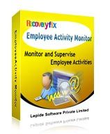 View Snap shots of Recoveryfix Employee Activity Monitor - Employee Computer Monitoring Software