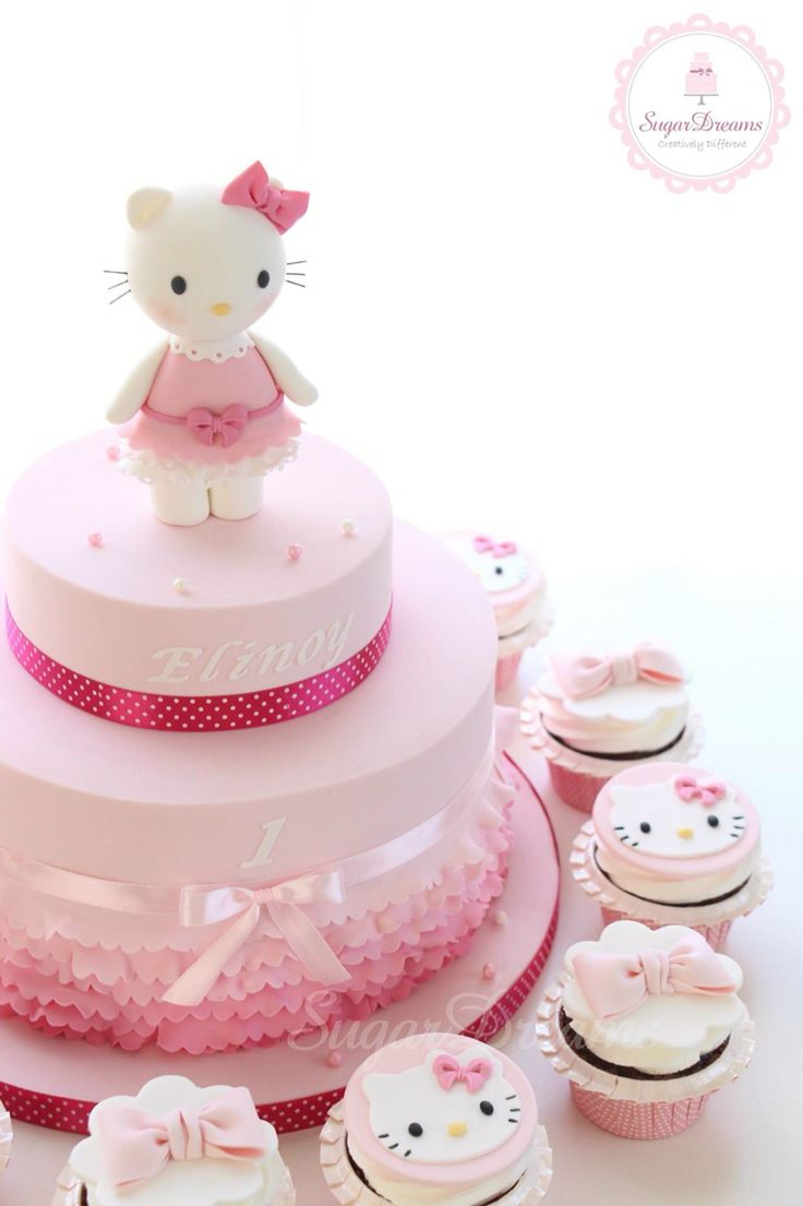 668 best hello kitty cakes images on pinterest hello. Black Bedroom Furniture Sets. Home Design Ideas