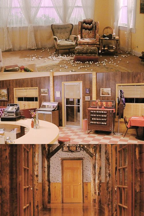 """ Twin Peaks (1990-1991) // the empty rooms """