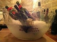 Cubitera Marqués de Cáceres con vinos de Croacia. Foto hecha en Croacia. #desencuentros