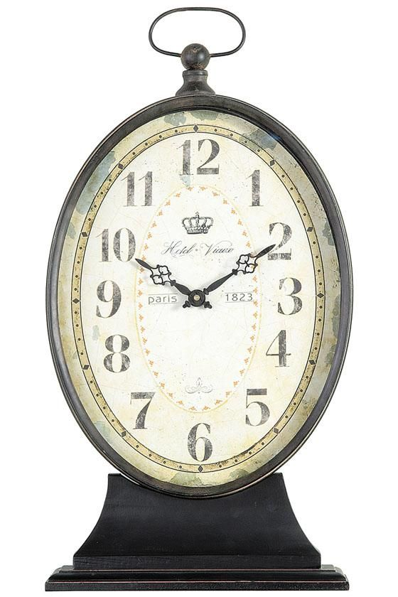 Paris 1823 Antiqued Mantel Clock - Clocks - Home Accents - Home Decor | HomeDecorators.com $79