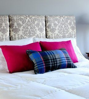 How to Make a Hanging Headboard | Curbly