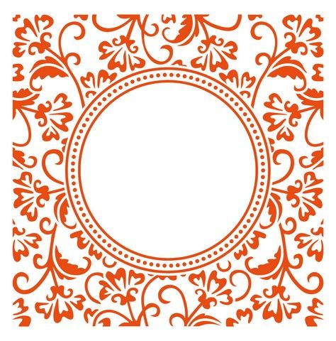 Marianne D Embossing folder Anja`s circle DF3425 (New 04-16) | Craft Emotions