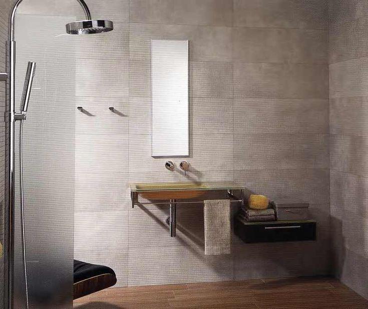 die besten 25 fliesen in betonoptik ideen auf pinterest sanit reinrichtung fugenloser. Black Bedroom Furniture Sets. Home Design Ideas