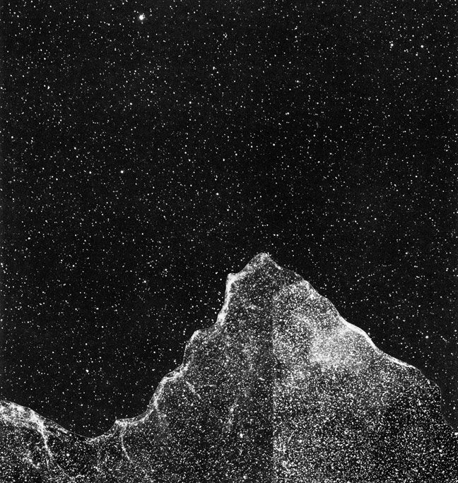 Sky Iceberg No. 4 Print by Rachel Prouty on Little Paper Planes $50: Iceberg No4, Iceberg Series, Iceberg No 4, Deep Sky, Rachel Prouti, Contemporary Art, Planes Products, Paper Planes, Sky Iceberg