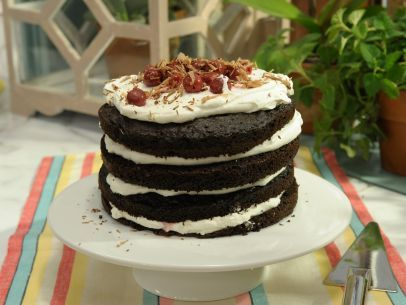 Get this all-star, easy-to-follow Black Forest Cake recipe from Katie Lee