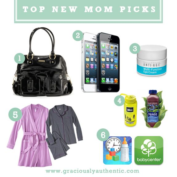 Top new mom picks for surviving those first few days with a newborn! #pregnancy #newmom