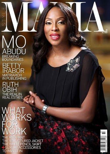 Magazine Covers - Mo Abudu on Style Mania