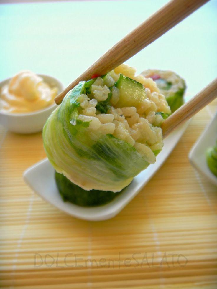 DOLCEmente SALATO: Finto sushi di verdure