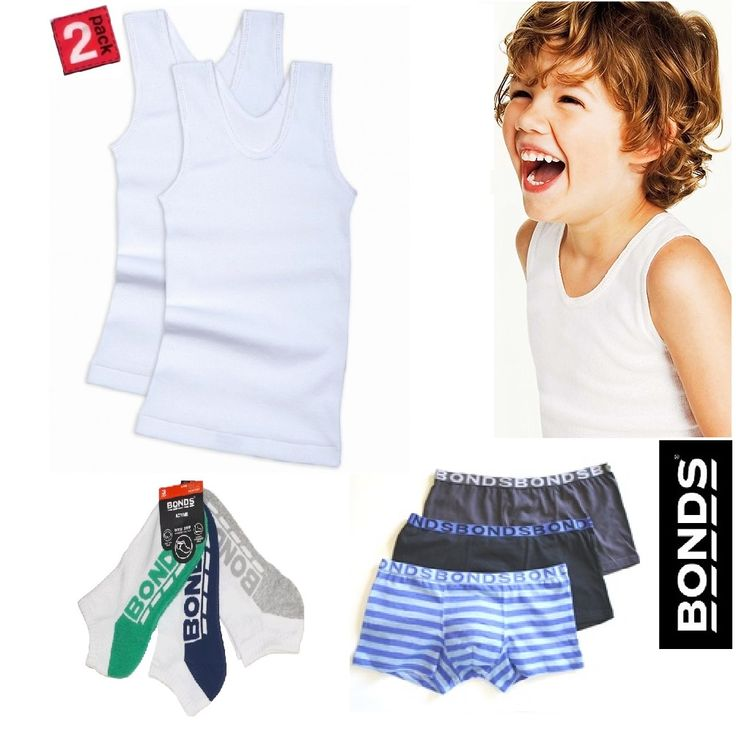 Australian icon,   Bonds Boys everyday essentials. #redthread7