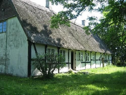 Uriges Ferienhaus in Klintholms Havn » Insel Moen Dänemark