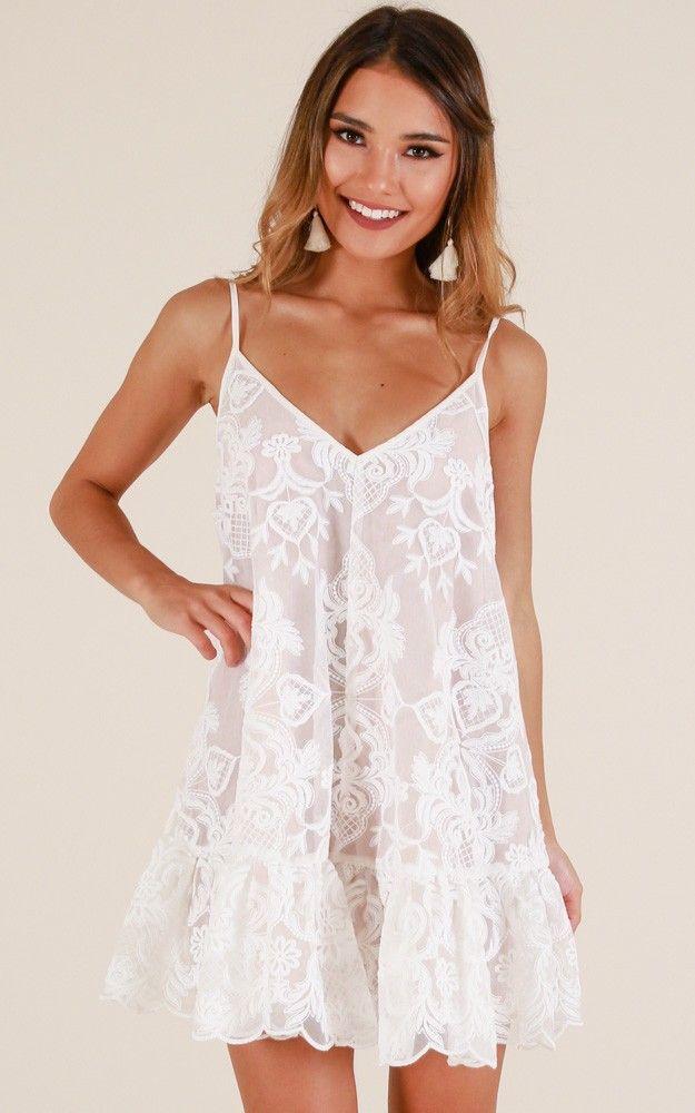 08c9a2793348 Lush Lover Dress In White Lace in 2019 | Moda/Outfits | Dresses, Lover dress,  White dress