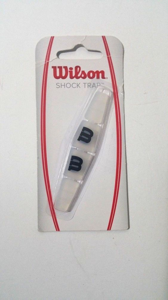 Wilson Shock Trap Tennis Vibration Dampener Clear