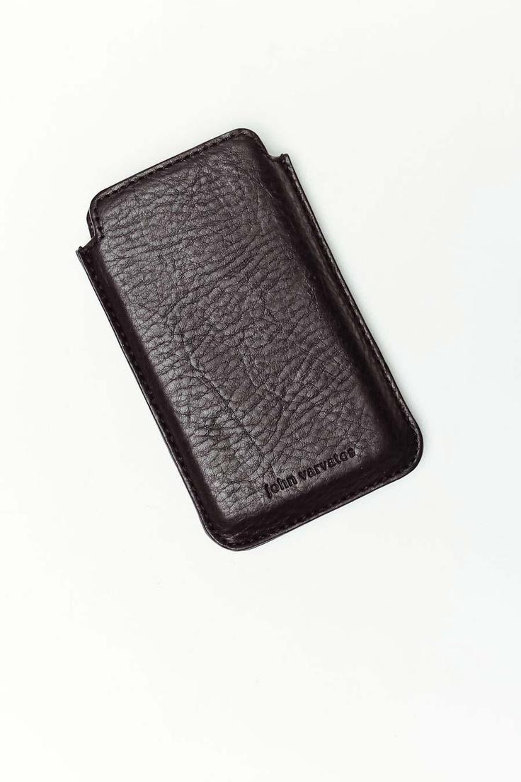 John varvatos leather driving gloves - Iphone Case By John Varvatos