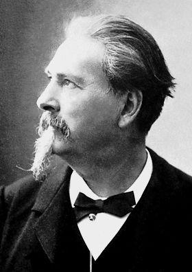 Portrait de Frédéric Mistral, Prix Nobel de Littérature, 1904
