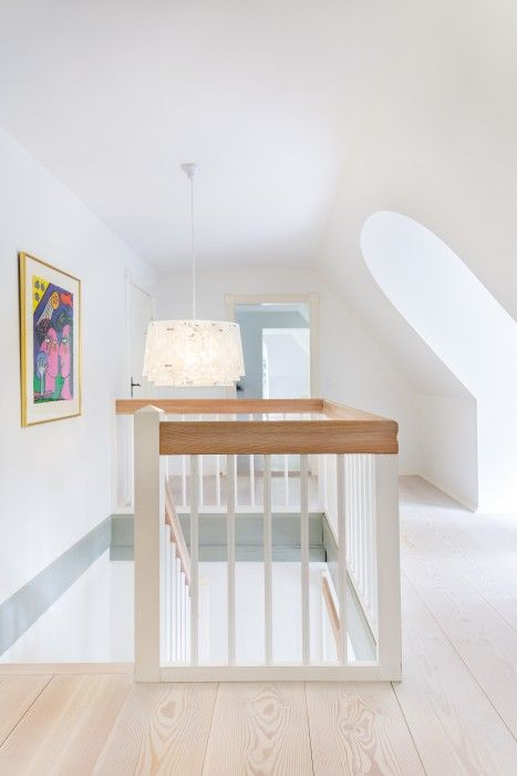 Wooden floorboards and stairs - Douglas by Dinesen