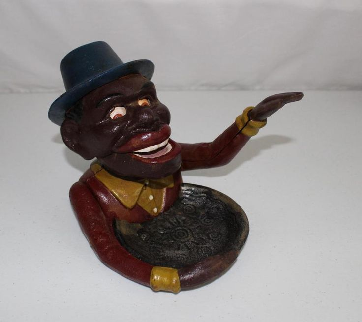 Details About Black Americana Man Cast Iron Nutcracker